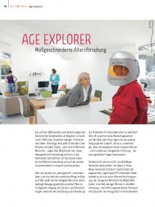 Alterssimulationsanzug Age Explorer - Massgeschneiderte Altersforschung