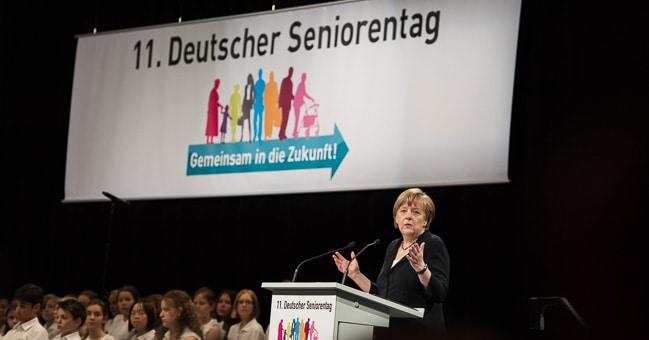 Seniorentag Angela Merkel