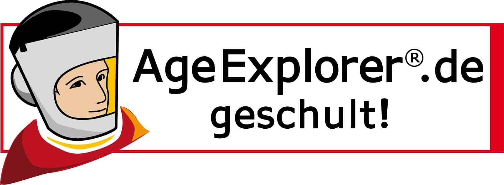 Age Explorer geschult