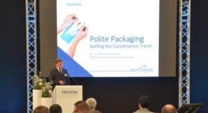 """Dr. Gundolf Meyer-Hentschel beim Event """"Future Solutions"""" von Treofan Deutschland"""