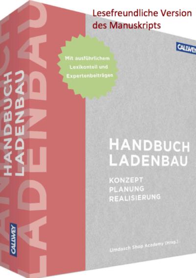 Der übersehene Markt Handbuch Ladenbau, Beitrag Gundolf Meyer-Hentschel