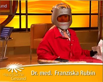 Franziska Rubin-Alterssimulationsanzug-Age Explorer